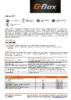 Техническое описание (TDS) Газпромнефть G-Box CVT