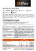 Техническое описание (TDS) Газпромнефть G-Box Expert GL-5 75W-90, 80W-90