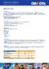 Техническое описание (TDS) Q8 CHF 22S