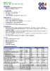 Техническое описание (TDS) Q8 El Greco ISO 68, 100, 150, 220, 320, 460
