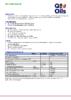 Техническое описание (TDS) Q8 Giotto Special