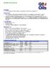 Техническое описание (TDS) Q8 Moto RS Extreme