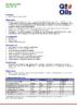 Техническое описание (TDS) Q8 Mozart HPX SAE 30, 40