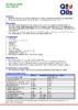 Техническое описание (TDS) Q8 Mozart SHPD SAE 15W-40