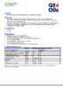 Техническое описание (TDS) Q8 Mozart SRU SAE 25W-40