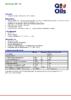 Техническое описание (TDS) Q8 Renoir EP 142