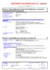 Паспорт безопасности Castrol ATF Dex II Multivehicle