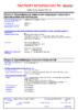 Паспорт безопасности Castrol Act-Evo Scooter 4T 5W-40