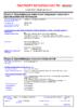 Паспорт безопасности Castrol EDGE Professional A5 0W-30