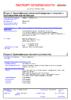 Паспорт безопасности Castrol GTX 15W-40 А3_В3