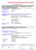 Паспорт безопасности Castrol Magnatec 5W-40 A3-B4