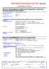 Паспорт безопасности Castrol Syntrans V FE 75W-80