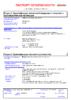 Паспорт безопасности Castrol Syntrax Limited Slip 75W-140