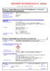 Паспорт безопасности Castrol Vecton Fuel Saver 5W-30 E7