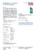 Техническое описание (TDS) Liqui Moly 2-Takt-Motorsagen-Oil