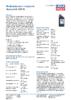 Техническое описание (TDS) Liqui Moly Hydraulikoil HLP 22