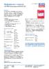 Техническое описание (TDS) Liqui Moly LM 750 Kompressorenoil 40