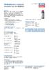Техническое описание (TDS) Liqui Moly Motorbike Gear Oil 80W