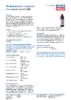 Техническое описание (TDS) Liqui Moly Zentralhydraulik-Oil 2400