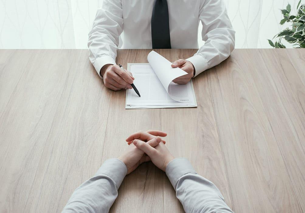 собеседование два человека